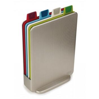 JJ - Zestaw 4 desek INDEX Mini, srebrny