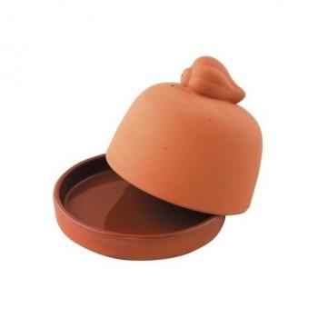 Pojemnik do zapiekania czosnku, terracotta