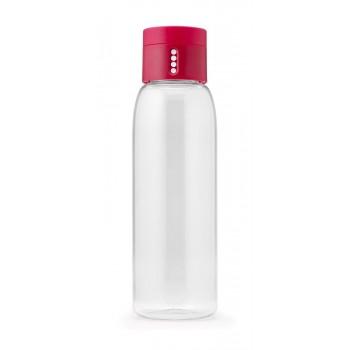 JJ - Butelka na wodę DOT 600ml, różowa