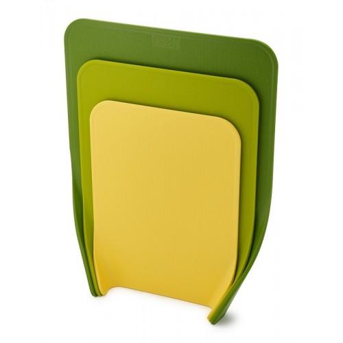 Joseph Joseph - Zestaw 3 desek do krojenia, zielonych, Nest™ 60121