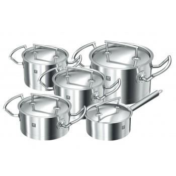 Zwilling - Twin Select Cookware - Zestaw garnków 5 elementów