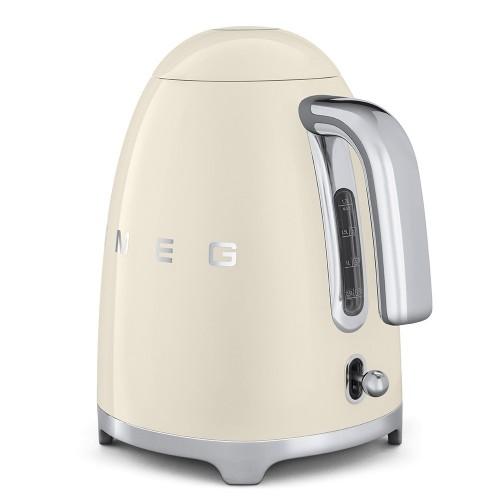 SMEG - 50's Style - Czajnik elektryczny, kremowy, 1,7 l.