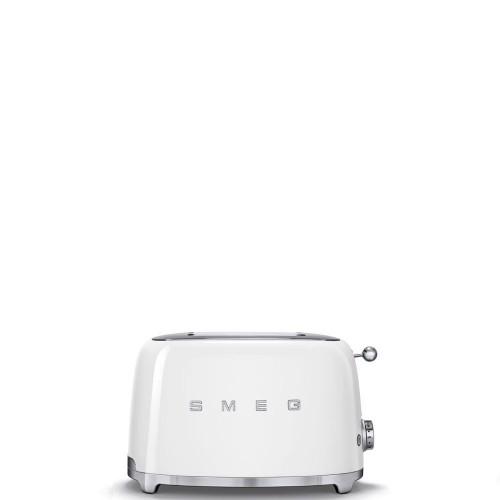 Smeg - 50's Style - Toster na 2 kromki, biały