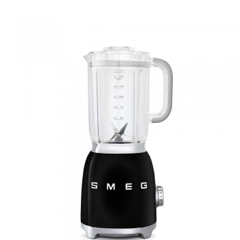 SMEG - Blender kielichowy, czarny BLF01BLEU