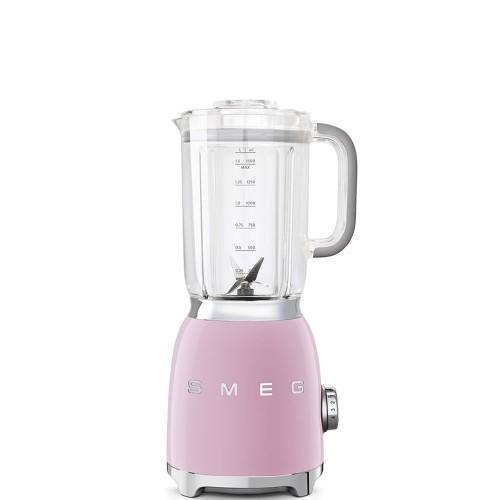 SMEG - 50's Style - Blender, pastelowy róż