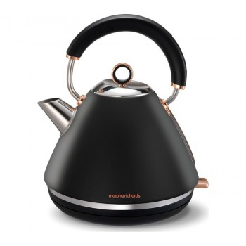 Morphy Richards - Accents Rose Gold - Czajnik, czarny Mat