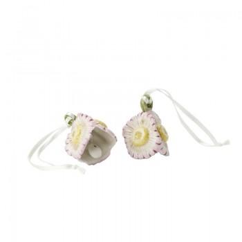 Villeroy&Boch - Mini Flower Bells - 2 małe zawieszki - stokrotki