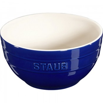 Staub - Serving - miska ceramiczna granatowa, 17cm.