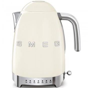 SMEG - Czajnik elektryczny z regulacją temperatury 1,7 l. , kremowy  KLF04CREU