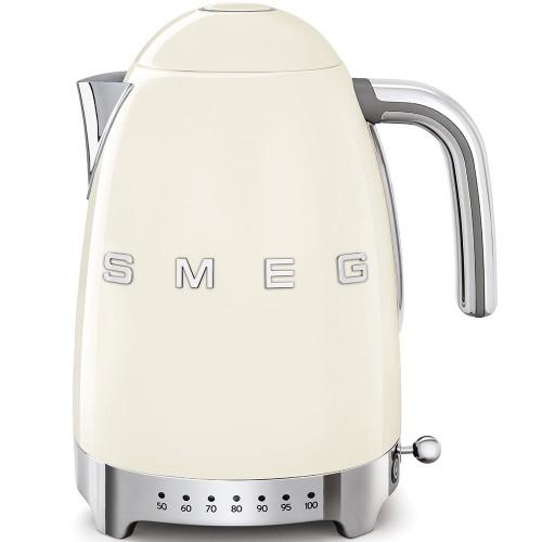 SMEG 50's Style Czajnik elektryczny z regulacją temperatury 1,7 l. , kremowy  KLF04CREU