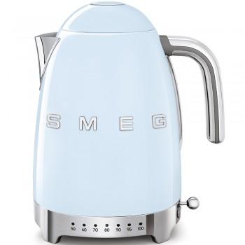 SMEG 50's Style Czajnik elektryczny z regulacją temperatury 1,7 l. , pastelowy błekit KLF04PBEU