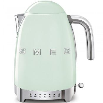SMEG - Czajnik elektryczny z regulacją temperatury 1,7 l. , pastelowa zieleń KLF04PGEU