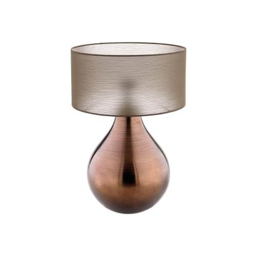 IVV - Bombay - lampa stołowa, brązowa, 53cm.
