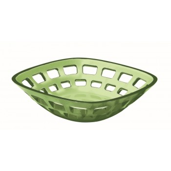 Guzzini - Glam - Koszyk na pieczywo, oliwkowy
