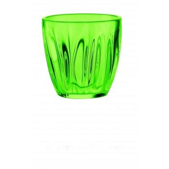Guzzini - Szklanka niska zielona