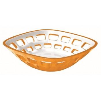 Guzzini - Koszyk na pieczywo pomarańczowy