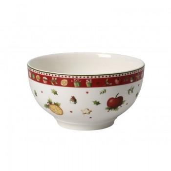 Villeroy & Boch - Miseczka porcelanowa do śniadania, deseru - Winter Bakery Delight