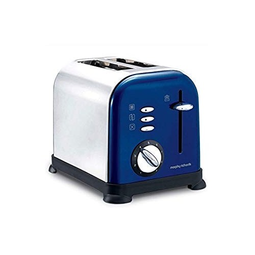 Morphy Richards Toster Accents Blue Polished