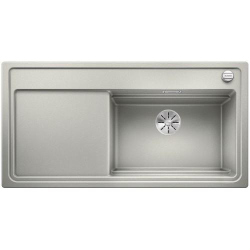 Blanco Zenar XL S 6 Steamer Perłowoszary Z Deską Szklaną - Wyprzedaż ekspozycji