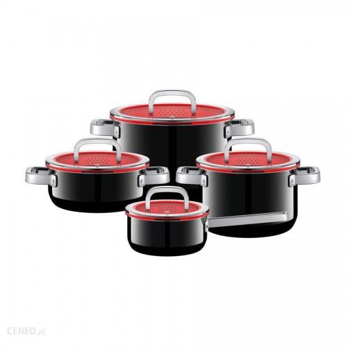 WMF - Zestaw 4 garnków,czarny,Fusiontec Functional 517405290