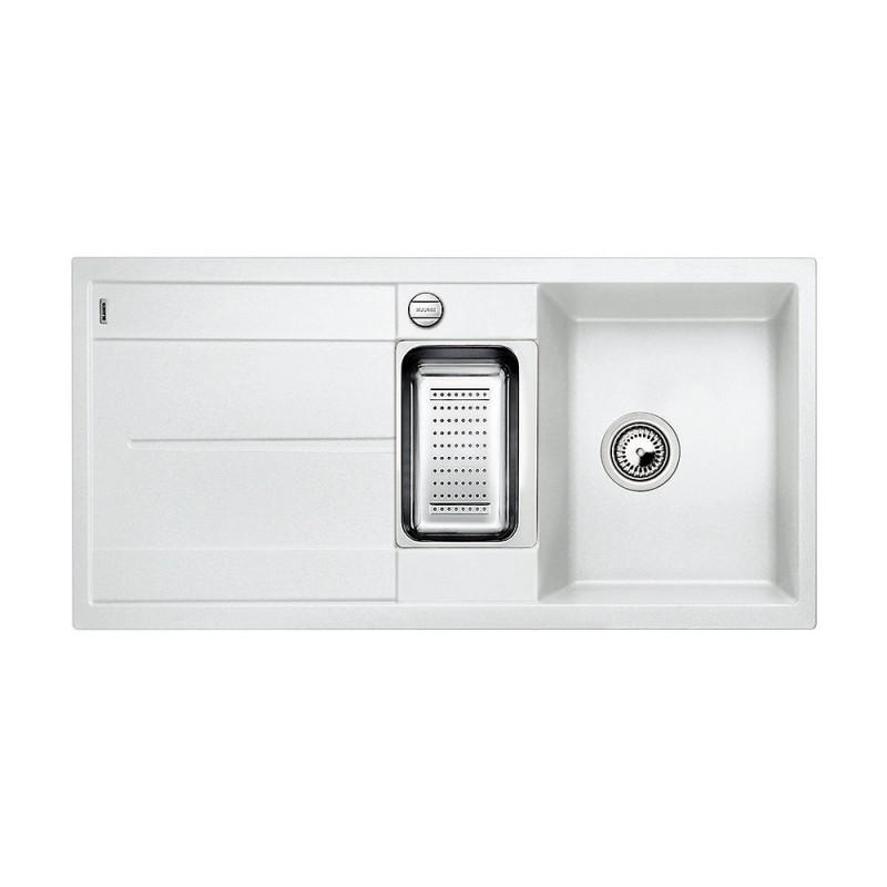 BLANCO METRA 6 S biały z korkiem automatycznym