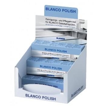 BLANCO POLISH środek do pielęgnacji zlewozmywaków stalowych kpl. (12 szt.  x 150 ml)