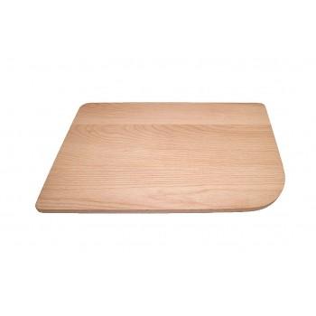 BLANCO Deska drewniana buk, 433x250,  [DELTA stal, Silgranit]