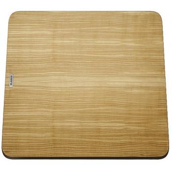 BLANCO Deska drewniana jesion, 383x402, [ZENAR XL 6 S Steamar System]