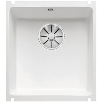 BLANCO SUBLINE 375-U Ceramika PuraPlus Biały połysk, InFino