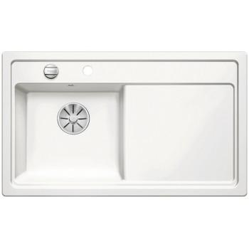 BLANCO ZENAR 45 S Ceramika PuraPlus Biały połysk lewa, korek auto., InFino