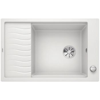 BLANCO ELON XL 6 S Silgranit PuraDur Biały odwracalny, korek auto., InFino, kratka ociekowa