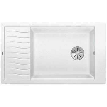BLANCO ELON XL 8 S Silgranit PuraDur Biały odwracalny, InFino, kratka ociekowa