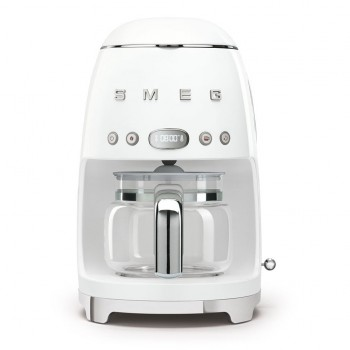 Smeg - 50's Style - Ekspres do kawy, przelewowy, biały DCF02WHEU