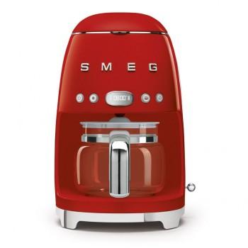 Smeg - Ekspres do kawy, przelewowy, czerwony DCF02RDEU