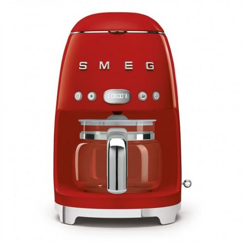 Smeg - 50's Style - Ekspres do kawy, przelewowy, czerwony DCF02RDEU