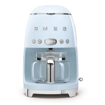 Smeg - 50's Style - Ekspres do kawy, przelewowy, pastelowy błękit  DCF02PBEU