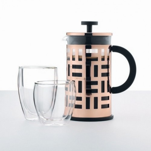 BUDUM - Zaparzacz do kawy, 8 filiżanek, 1 litr, EILEEN