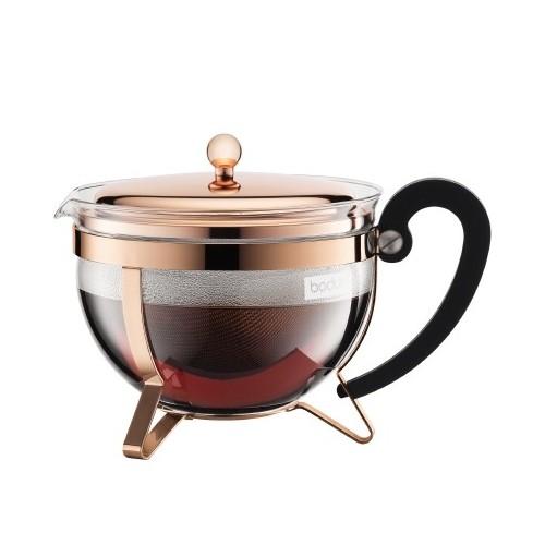 BODUM - Zaparzacz tłokowy do herbaty, miedź, 1.3 litra