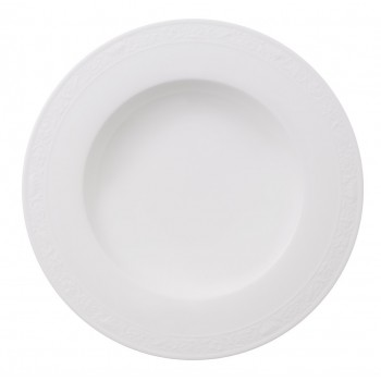 Villeroy & Boch - White Pearl - Talerz głęboki 24 cm