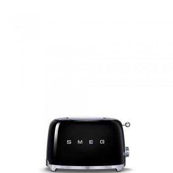 Smeg - 50's Style - Toster na 2 kromki, czarny