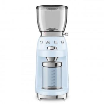 SMEG - Elektryczny młynek do kawy, pastelowy błękit CGF01PBEU