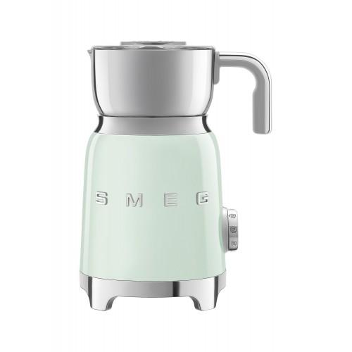 SMEG - Spieniacz do mleka, pastelowa zieleń MFF01PGEU