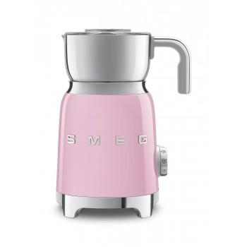 SMEG - Spieniacz do mleka, pastelowy róż MFF01PKEU
