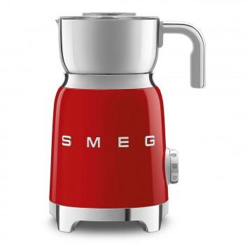 SMEG - Spieniacz do mleka, czerwony MFF01RDEU