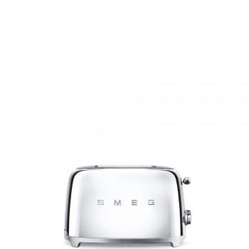 Smeg - 50's Style - Toster na 2 kromki, chrom