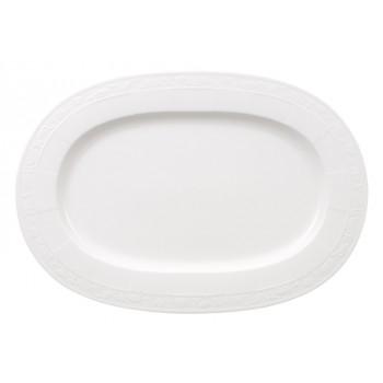 Villeroy & Boch - White Pearl - Półmisek owalny 41 cm