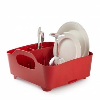 UMBRA - Suszarka na naczynia, czerwona, TUB