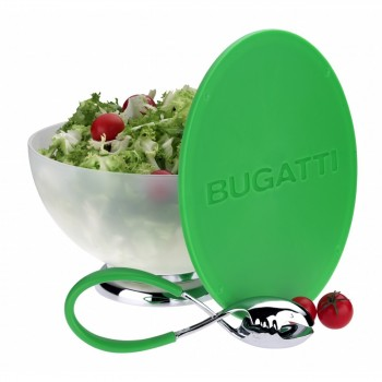 Bugatti Primavera - Salaterka + zielona pokrywa/deska do krojenia 65-7100CUM