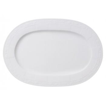 Villeroy & Boch - White Pearl - Półmisek owalny 35 cm