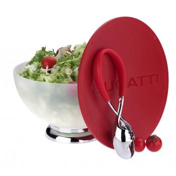 Primavera - Salaterka + czerwona pokrywa/deska do krojenia